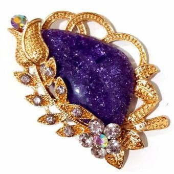 Harga Bros Stone Gold - Purple