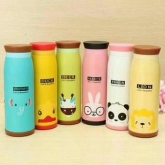 Harga TERMOS AIR PANAS BERKARAKTER ANIMAL CUTE 500 ML