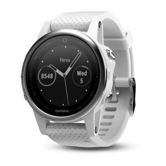 Garmin Fenix 5S Premium Multisport GPS Watch White / Carrara White Band Wrist HR