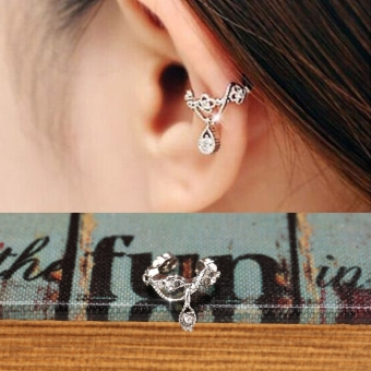 Jual Wanita Perhiasan Anting Anting Imitasi Kristal Dekorasi Source · In Model Manset Telinga Perempuan Membungkus