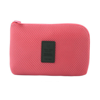Harga HS - Travel Gadget Pouch Large - Pink