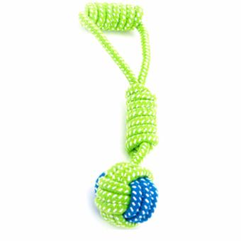 Harga Dog Toy Dog Chews Cotton Rope Knot Ball Grinding Teeth odontoprisis Pet Toys Large small Dogs - intl