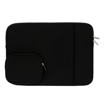 "Harga 11"" 13"" 14"" Laptop Notebook Sleeve Case Neoprene Bag Cover for MacBook Air/Pro Tablet PC (11 inch Black) - Intl"