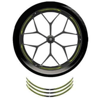 Harga Wheel Rim Sticker – Yellow Bright
