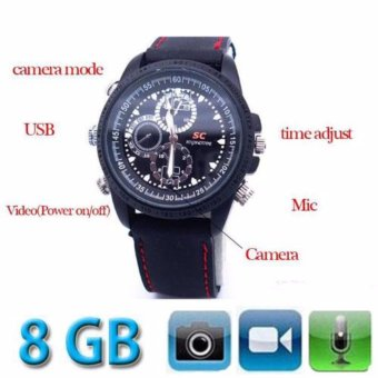 Harga SPY - Jam Tangan Kamera Pengintai Kareti Camera Watch Rubber