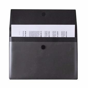 Fashion Portabler PVC A4 File Folder Pocket Document Wallet Paper Files Record Bag Business Handbag Storage