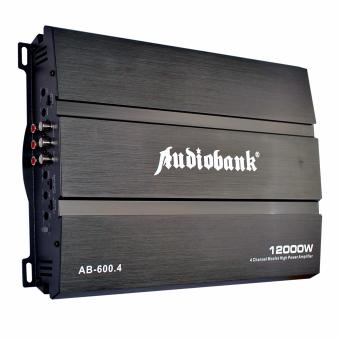 Harga Audiobank AB-600.4 4 Channel Mosfet Power Amplifier Max. 12000W