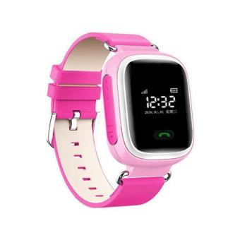 Harga Q60 Smart Watch Tracker SOS Call Anti-lost Children for Android iOS iPhone Pink - intl