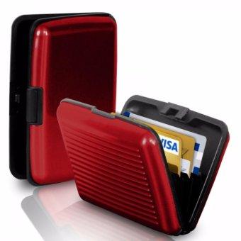 Credit Card Multifunction Wallet Dompet Kartu Kredit Card Guard Card Caddy Aluma Wallets