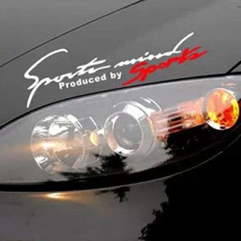 Harga Sports Decor Car Auto Reflective TRD Car Decal Stickers - intl