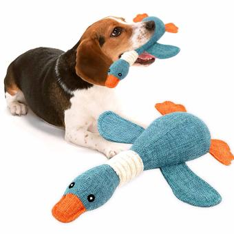 Pet Dog Sound Toys Solid Resistance To Bite color:Blue - intl