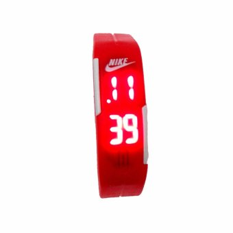 Harga JAM TANGAN LED NIKE - RED