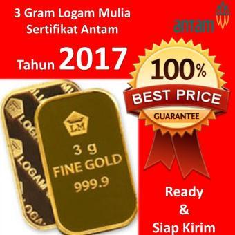Spek Harga Gold Logam Mulia Lm Sertifikat Asli Antam 0 5 Gram Emas