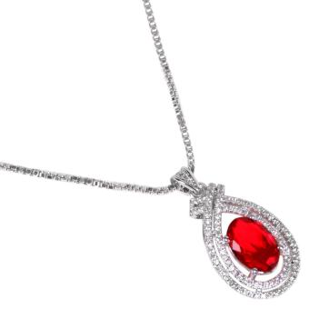 Timmy Fire Red Crystal P880B - Liontin Wanita