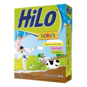 Harga HiLo School Chocolate 750 g