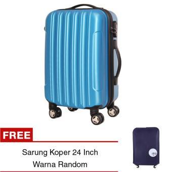 uNiQue Travel Luggage Koper Hardcase Speedlite 24 inch + FREE Sarung Koper EasyProtect