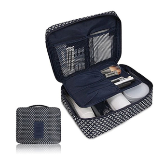 Travel Organizer Travel Mate Toiletries Pouch Bag Ver 2(Classic navy blue) - Intl