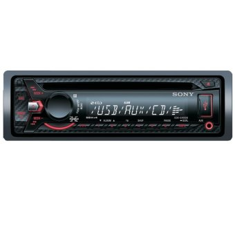Harga Sony CDX-G1050U CD/MP3/WMA Receiver with Front AUX & USB