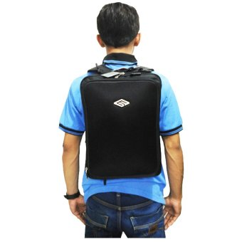 Harga Blasted 6181 Tas Backpack 3in1 Laptop 12 Inch - Hitam