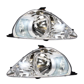 Harga OTOmobil Head Lamp Lights Honda Jazz 2004 2005 2006 2007 Chrome - Set