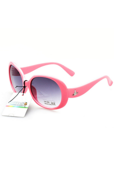 Harga OEM New Stylish Kid Sunglasses (Pink)
