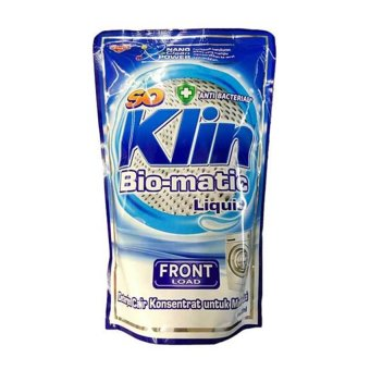 Harga So Klin Liquid Detergen Matic Front Load Pouch - 800 ml