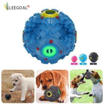 Harga Leegoal Pet Dog Squeaky Ball Made Of Tough Plastic To Train Dog IQ With Food Dispenser Slim For Dogs And Cat (M)