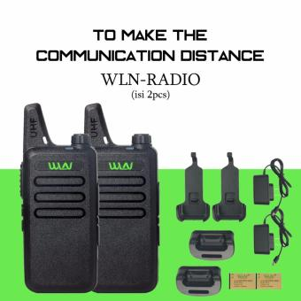 Harga HT WLN Walkie Talkie Two Way Radio (2 Pcs)