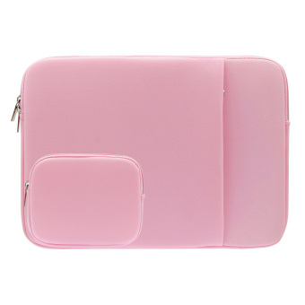 "Harga 11"" 13"" 14"" Laptop Notebook Sleeve Case Neoprene Bag Cover for MacBook Air/Pro Tablet PC (11 inch Pink) - Intl"