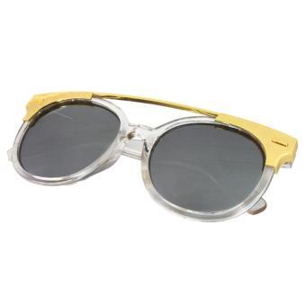 Cat Eye Sunglasses CAT 5019 Clear Silver - Kacamata Wanita