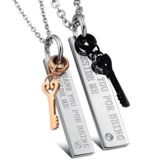Harga Kalung Couple Stainless Steel 316L 009