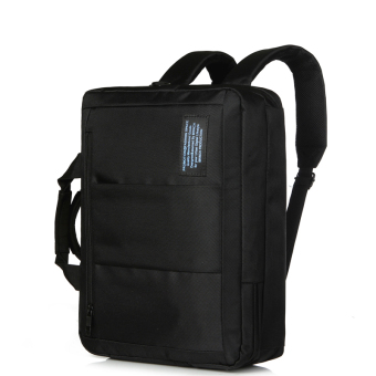 Harga BRINCH shoulders computer bag 14 inch male single shoulder laptop three Laptop Backpack (Black) (Intl)