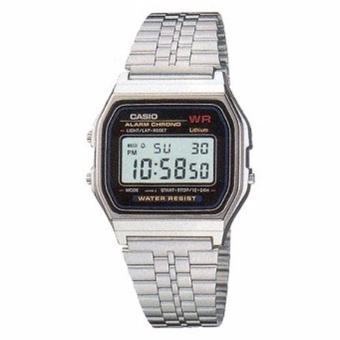 Harga Casio Watch Vintage Silver Stainless-Steel Case Stainless-Steel - UNISEX