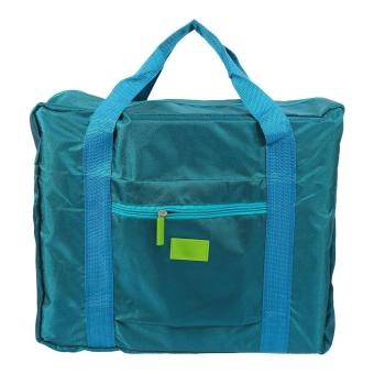 Harga Foldable Travel Storage Bag Hand Shoulder Organizer (Green) - intl