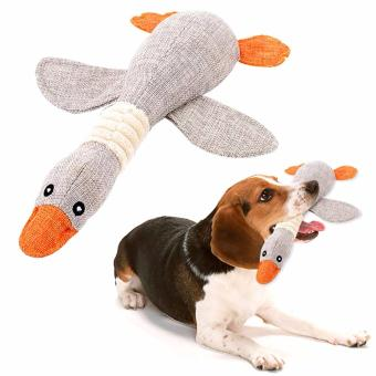 Pet Dog Sound Toys Solid Resistance To Bite color:Grey - intl
