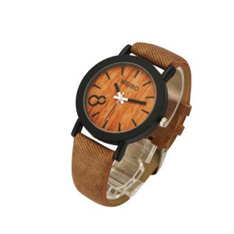 Harga coconie Neutral Simple Fashion Leather Quartz Wrist Watch - intl