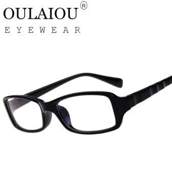 Oulaiou Fashion Accessories Anti fatigue Trendy Eyewear Reading Glasses OJ2118 intl .