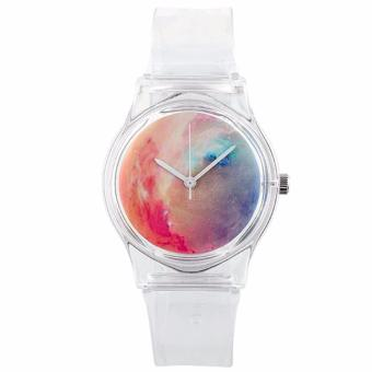 Harga Santorini Jam Tangan Wanita Quartz Fashion Casual Analog Plastic Band Women Lady Watch - Type A