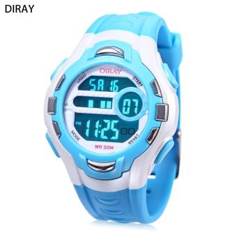 Date Source · DIRAY DR 202 Children Digital Watch LED Alarm Chronograph Calendar .