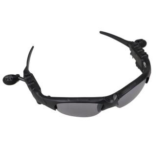 New 2 GB Headset Bluetooth Bebas Genggam Telepon Kepala Kaca Mata Sun Glass .