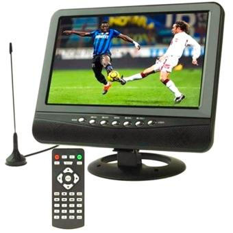 Harga TV Portable Analog TFT LCD 7.5 inch Wide View Angle - Black