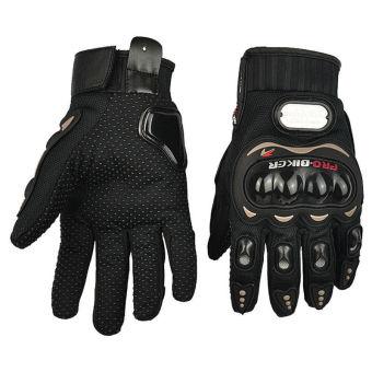 Harga CatWalk 2015 Pro-Biker Carbon Fiber Bike Motorcycle Motorbike Racing Gloves Full Size M-XXL (Black) (Intl) (Intl) - intl