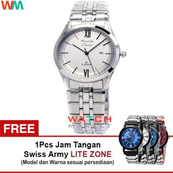 Hitam Dg9000 Source · Digitec Chain Jam Tangan Pria Strap Stainless Steel Silver .