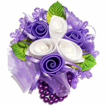 Harga Bros Jumbo Flower - Purple Soft