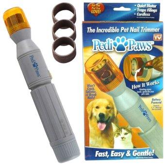 LETSBAY listrik anjing peliharaan kucing mencakar kaki perawatan kuku  Perawatan pemangkas alat pengasah . 048526738c