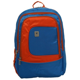 Harga Voyager Tas Ransel Laptop Kasual 7818 Backpack Up to 15 inch Bonus Bag Cover - Biru
