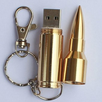 Harga USB Flash Drive Memory USB Stick U Disk Pen Drive 2TB Pendrive Gold 89mmx16mm - intl