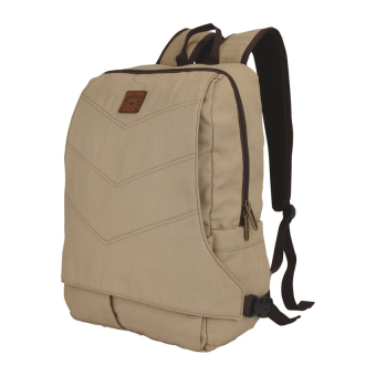 Harga Catenzo Backpack Tas Laptop Ransel Canvas - Cream