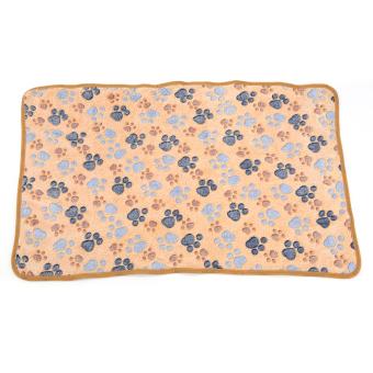 Pet besar kecil bekas cakar kucing babi anjing anak anjing hangat selimut bulu lembut tempat tidur