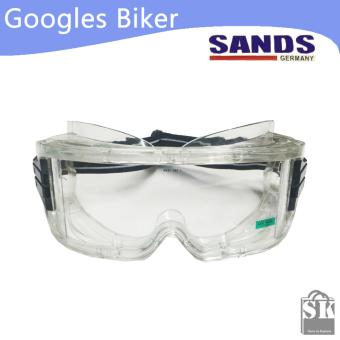 Harga SANDS Kacamata Motor Google Motocross Airsoft Gun - Googles Biker Sunglasses